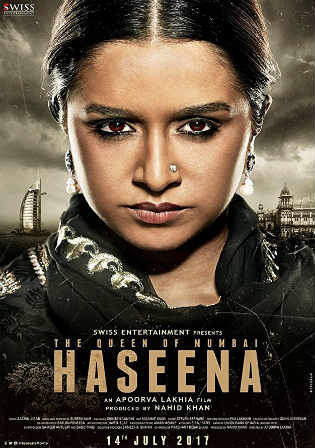 Haseena Parkar 2017 Pre DVDRip 350Mb Full Hindi Movie Download 480p Watch Online Free bolly4u