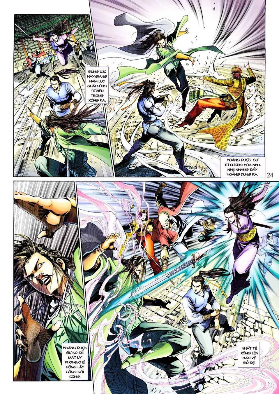 Anh Hùng Xạ Điêu anh hùng xạ đêu chap 33 trang 24