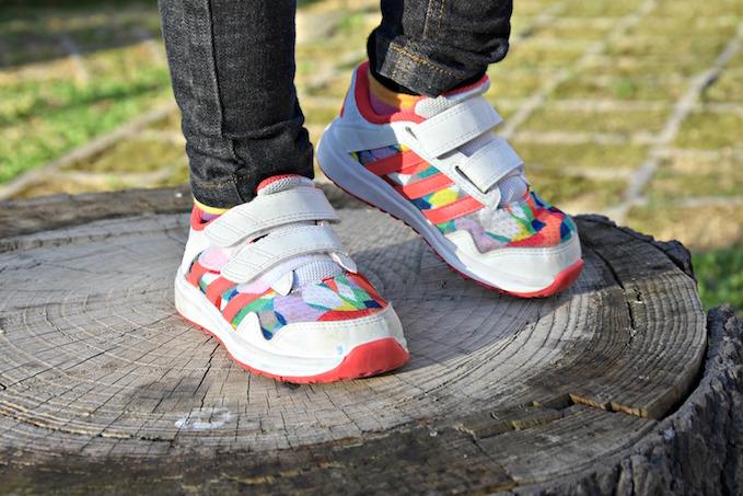 scarpe da ginnastica nike per bambini multicolor
