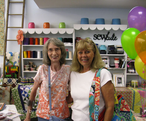 I met Rina Mason another quilter