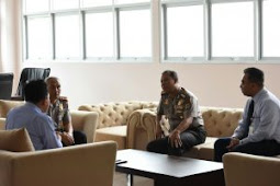 Wakapolda Papua Barat Terima Kunjungan Kakanwi Bank Indonesia