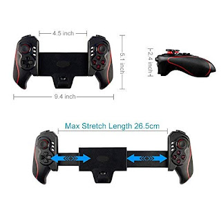 controllo joystick gamepad android bluetooth per tablet stk-7003 on tenck