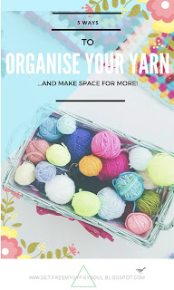 organize organise yarn stash diy tips tricks ideas