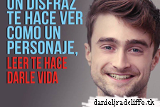 Updated(3): Daniel Radcliffe supports Mexican reading campaign