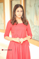 Actress Lavanya Tripathi Latest Pos in Red Dress at Radha Movie Success Meet .COM 0022.JPG