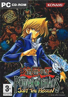 capa do Yu-Gi-Oh! Power Of Chaos - Joey The Passion