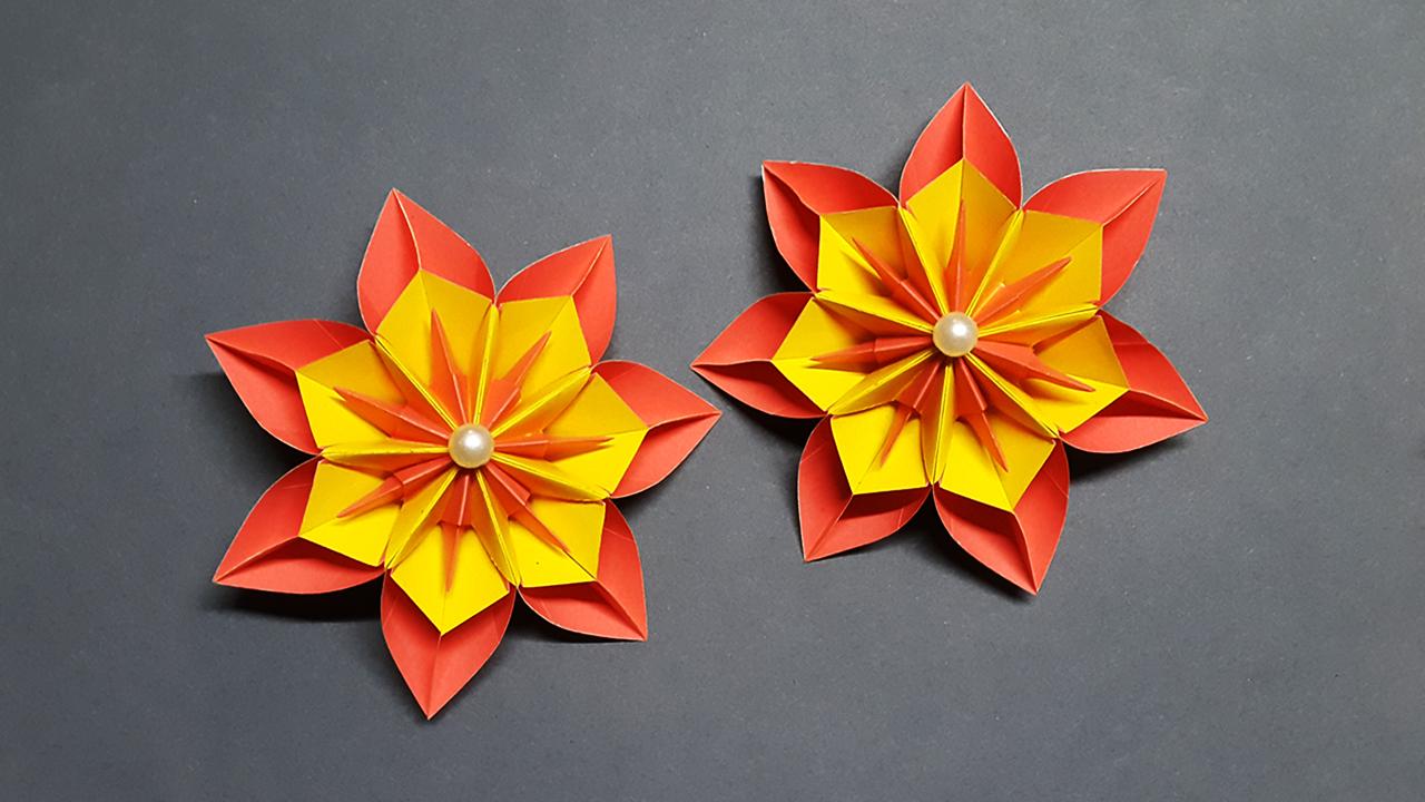 Origamisan › Origami Blog › Origami Rose | 720x1280
