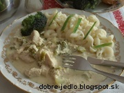 Kurací perkelt s brokolicou - recept