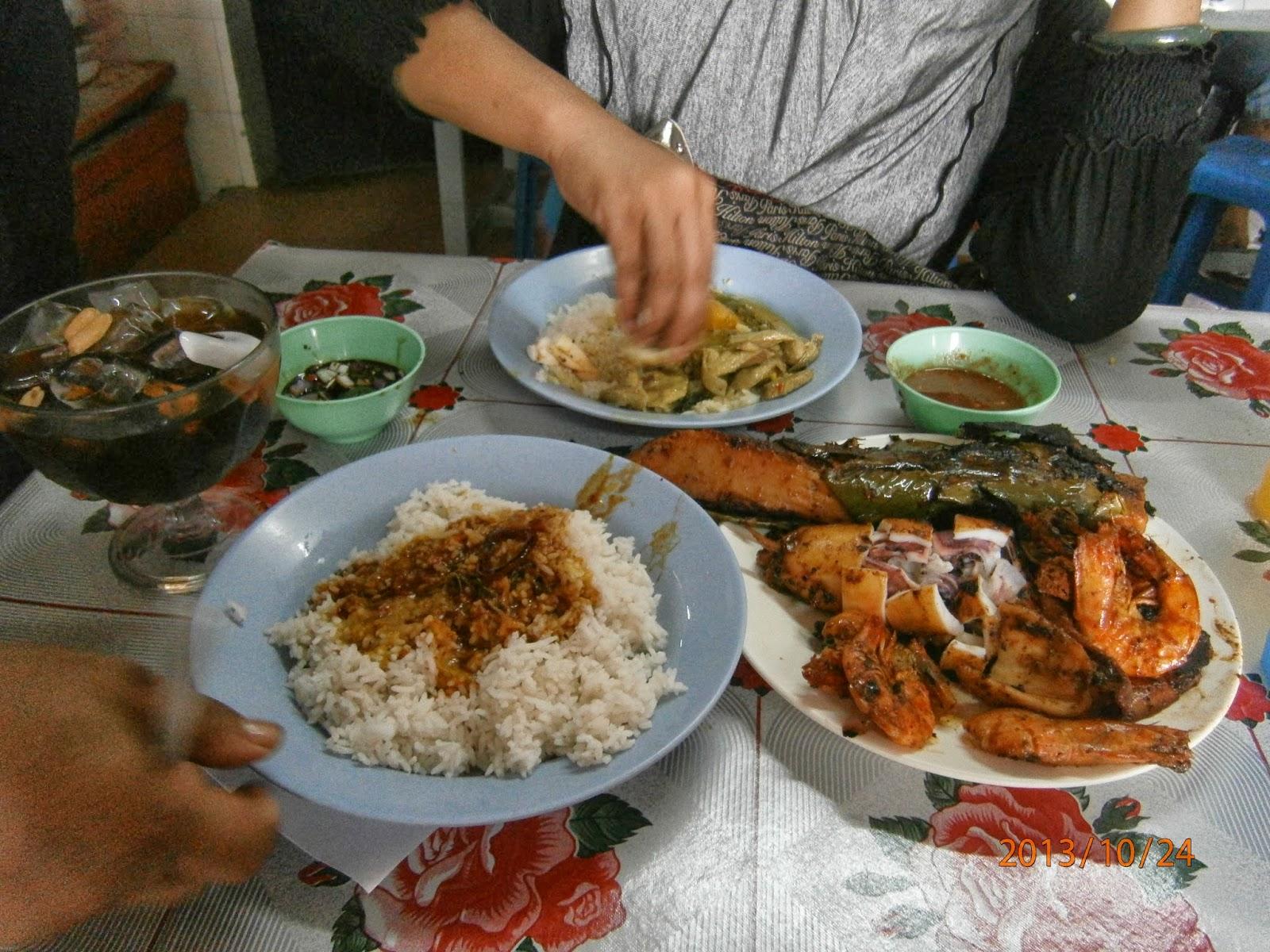 Nasi Lemak Bungkus with Sambal Udang