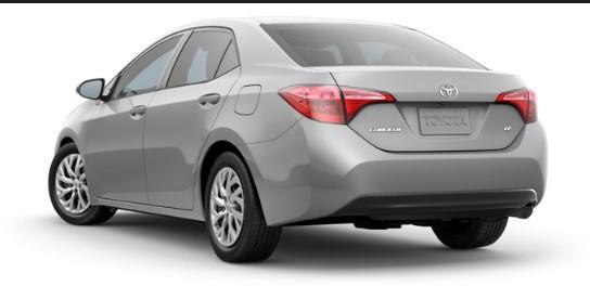 2019 Toyota Corolla LE Lease Deals