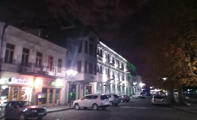 Abendspaziergang in Kutaissi - Altstadt