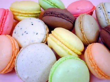 Receita de Macarones (Macaron) docê Francês