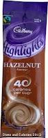 Cadbury highlights hot chocolate hazelnut
