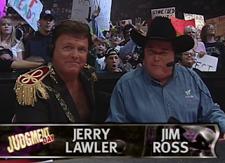 WWE / WWF Judgement Day 1998: In Your House 25 - Jim Ross & Jerry 'The King' Lawler