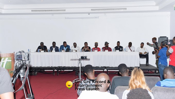GRA GRA Records and Entertainment sign five new artistes