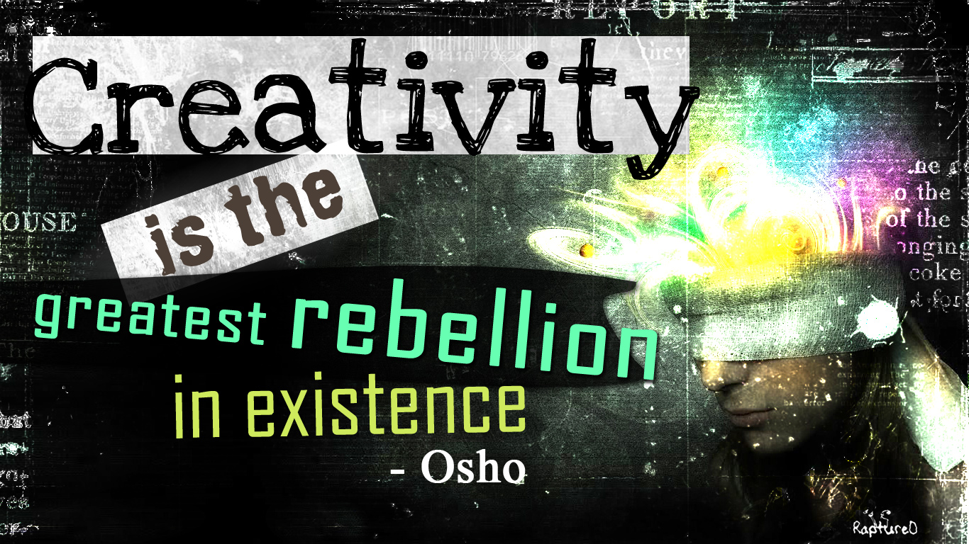 creativity 1366 768 wallpaper | CreativeBug