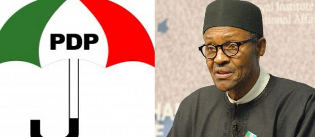 PDP Lampoons Buhari Over Failed N45 million Form Purchase Stunt