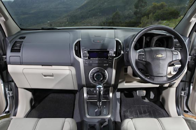 Interior Dashboard Chevrolet Trailblazer Prefacelift