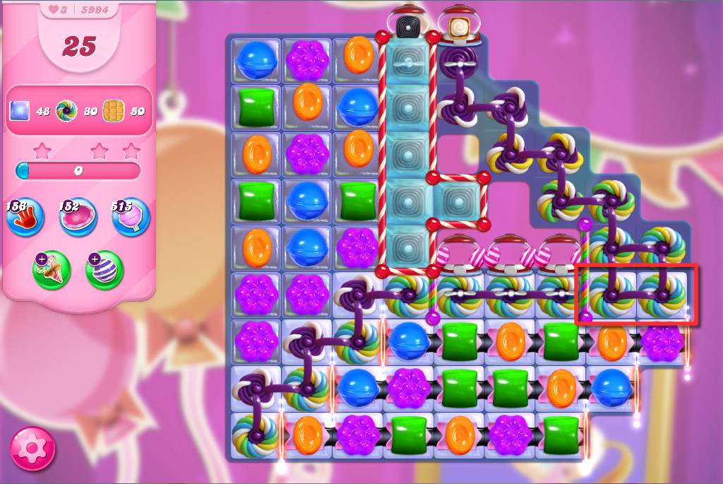 Candy Crush Saga level 5994
