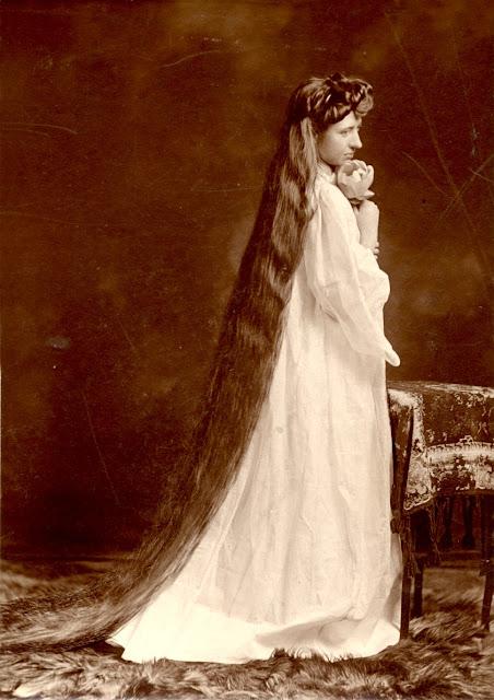Vintage Photos Of Edwardian Rapunzels Vintage Everyday