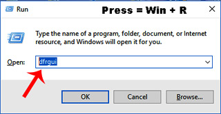 5 Ways to Open Defragmenter in windows 10