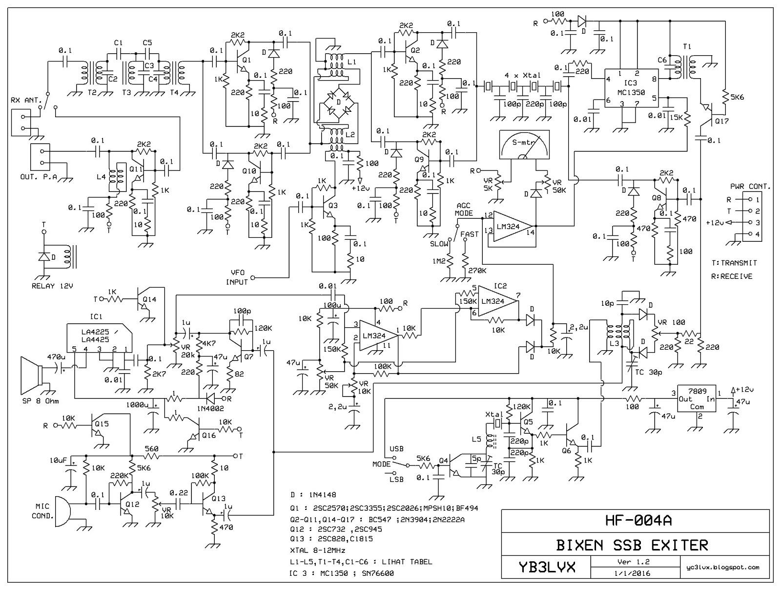 Multiband Bitx G6lbq Links Circuit Diagram Ssb Transceiver 80m 40m Https 4bpblogspotcom P1lptplxnho Vrxre6hl Yi Aaaaaaaaaxi Qrifrbrhavi S1600 Bitx2bnew2bbixen2bperbaikan