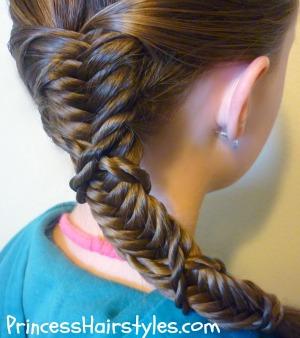 Super Hairstyles For Girls Princess Hairstyles Fish Bone Braids Hairstyles For Men Maxibearus