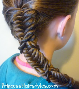 twist wrap fishtail braid tutorial
