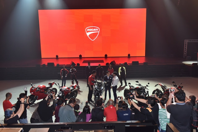 Ducati Malaysia Launches 5 New 2016 Models