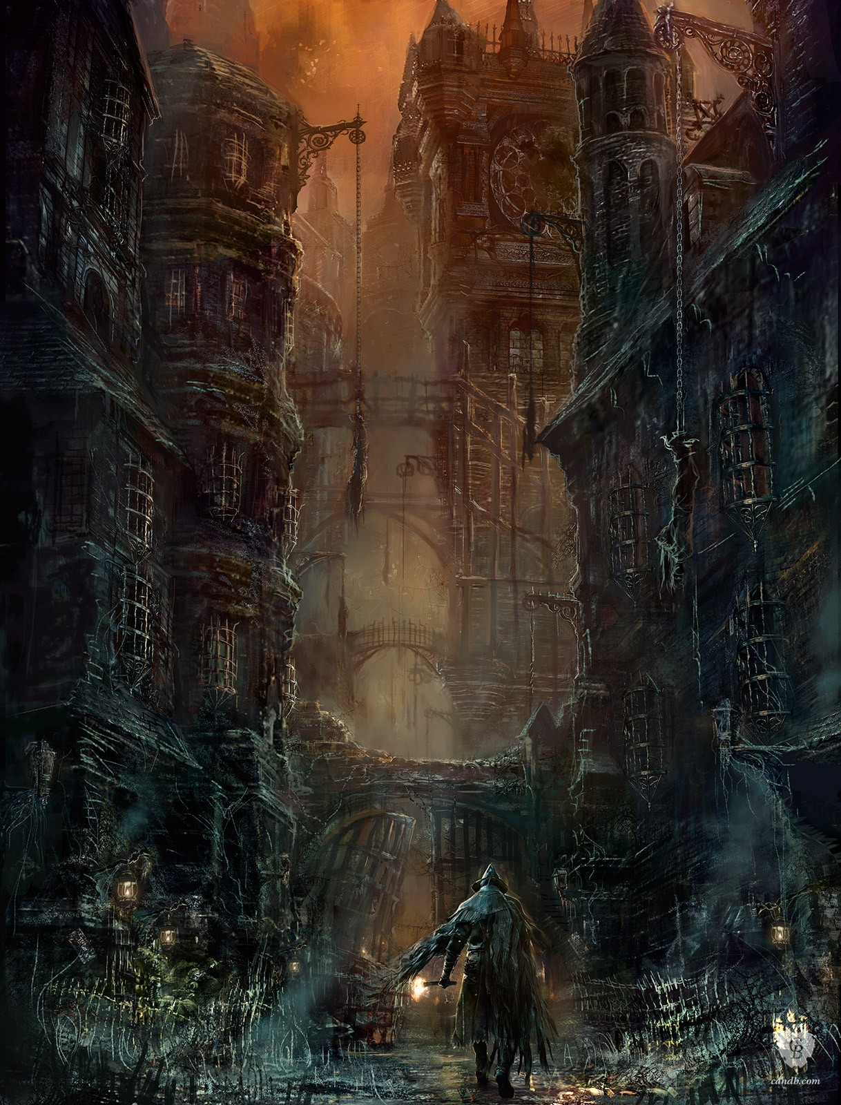 The Geeky Nerfherder: Cool Art: 'Bloodborne' & 'The Order: 1886