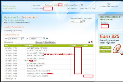 Pembayaran PPC Infolinks Via Payoneer