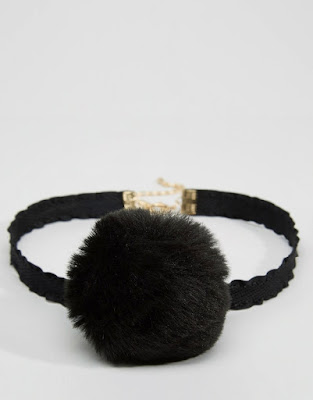 The Best Jewellery Buys from the High Street this SS16 - ASOS - Limited Edition Pom Pom Choker Necklace - £6.00