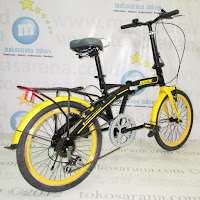 20 Inch Exotic ET20-2658-9 Folding Bike