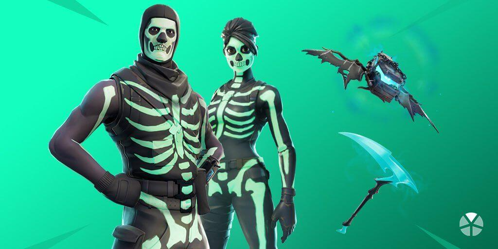 Fortnite Skull Trooper Set Revealed | New Skull Squad Gear And Challenges