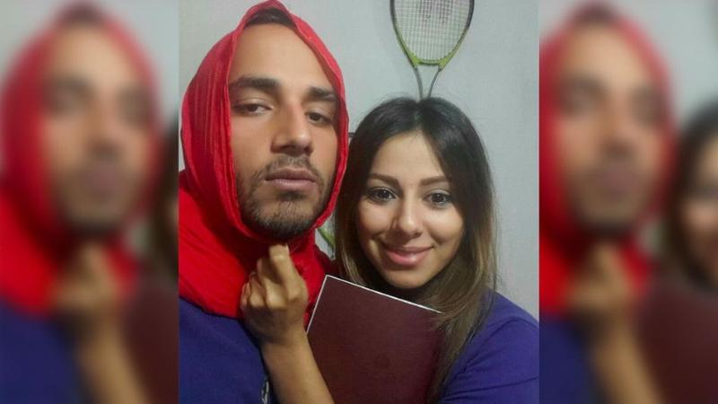 Homem com hijab