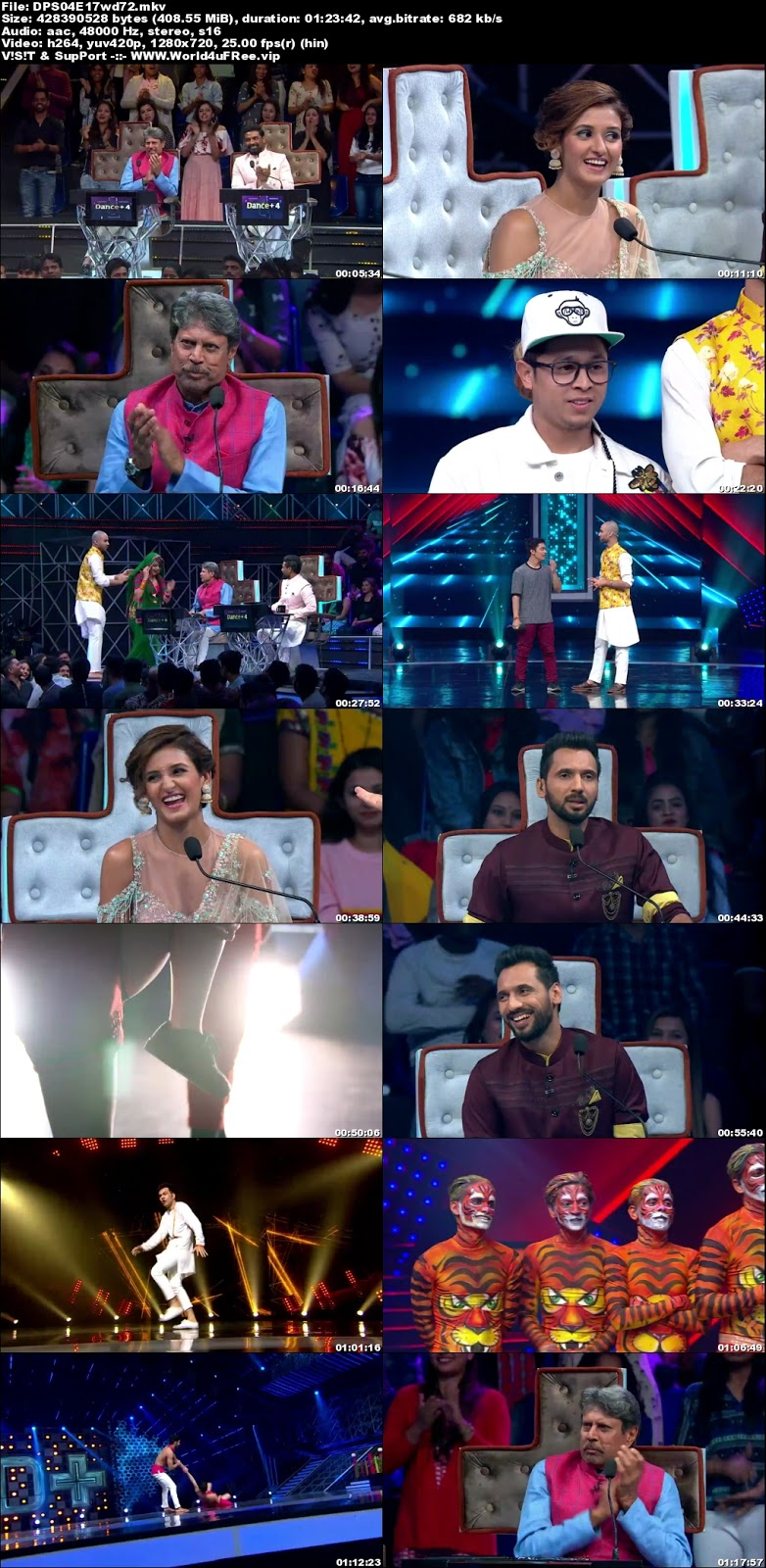 Dance Plus S4 02 December 2018 720p WEBRip 300Mb x264 world4ufree.fun tv show Dance Plus 4 2018 hindi tv show Dance Plus 4 2018 Season 4 Star Plus tv show compressed small size free download or watch online at world4ufree.fun