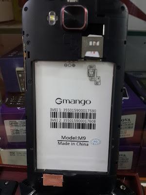 Gmango M9 Flash File MT6572