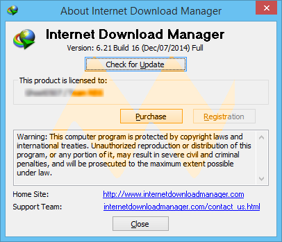 Internet Download Manager 6.21 Build 16