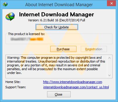 Internet Download Manager 6.21 Build 16