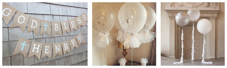 t4 girlandy białe komunijne balony z okazji pierwszej komunii świętej dekoracji dodatki atrakcje dla dzieci jak zorganizować komunię w domu ceny promocje pomysły inspiracje