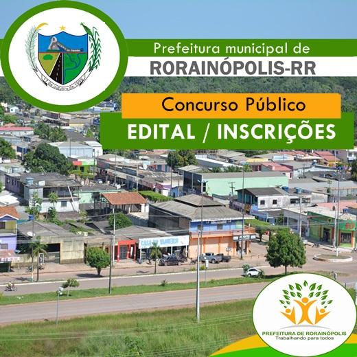 Concurso Prefeitura de Rorainópolis-RR, Edital oferece 100 vagas na Educação