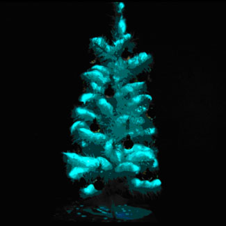 little dipper scientists have made glow in the dark trees