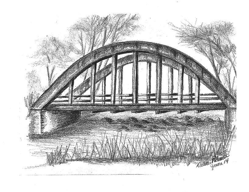 проектировали мосты картинки карандаш гардеробе