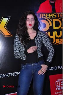 Actress Mannara Chopra Stills in Jeans at Sparx 2017 Curtain Raiser Event  0166.JPG