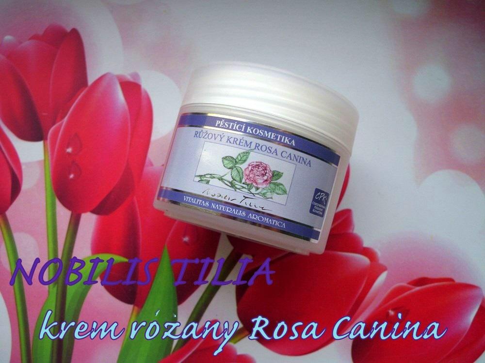 Nobilis Tilia Rosa Canina różany krem do twarzy