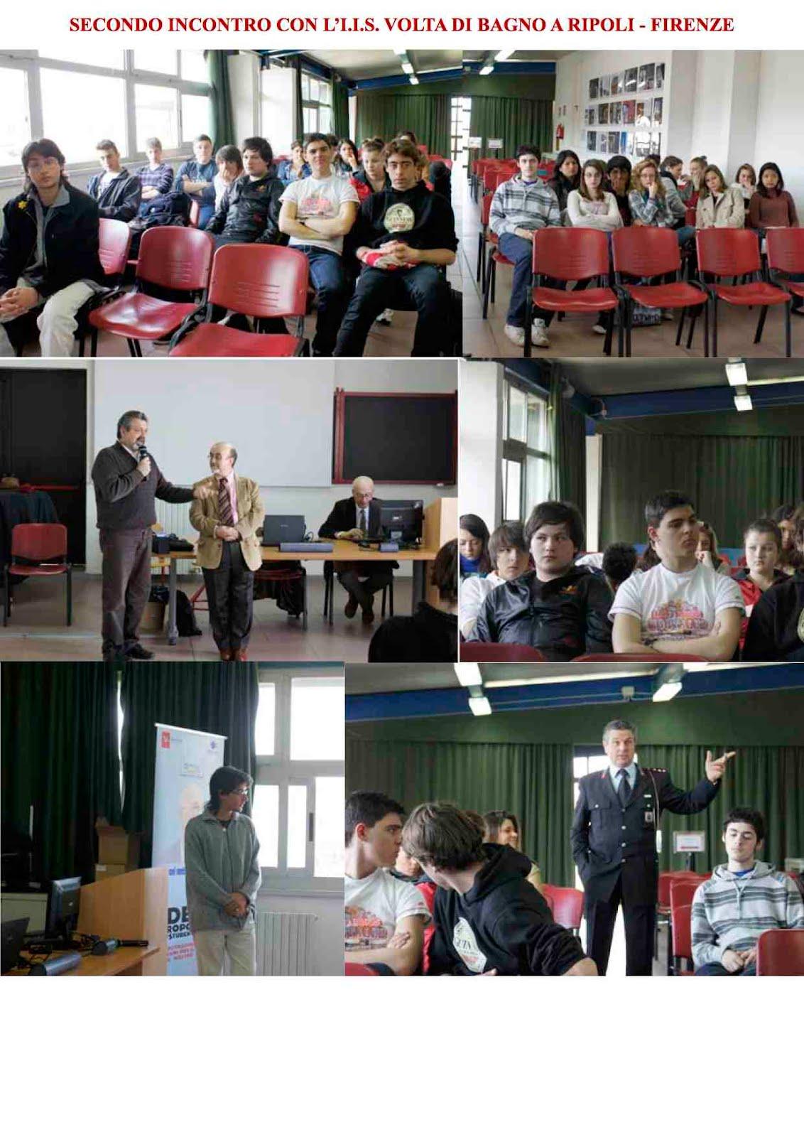 Giovani sentinelle marzo 2012 - Liceo gobetti bagno a ripoli ...