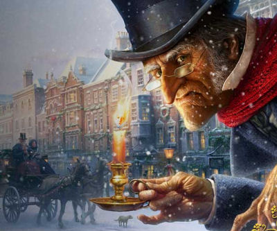 setting of a christmas carol by charles dickens