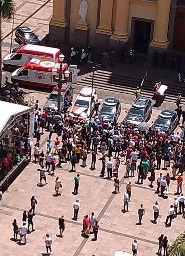 #Evil and #Madness : Brazil cathedral #shooting leaves a deep horror and five dead !