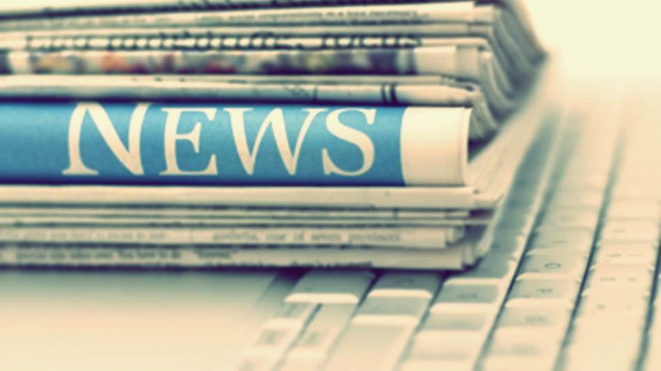 Evolution Of News Media And Social Media - infographic