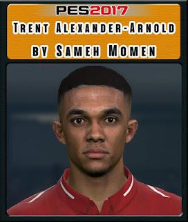 PES 2017 Faces Trent Alexander-Arnold by Sameh Momen
